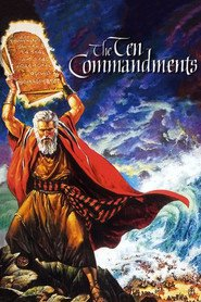 The Ten Commandments - movie with Debra Paget.