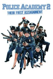 Police Academy II: Their First Assignment - movie with George Gaynes.