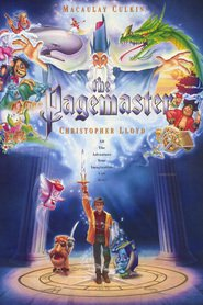 The Pagemaster - movie with Christopher Lloyd.