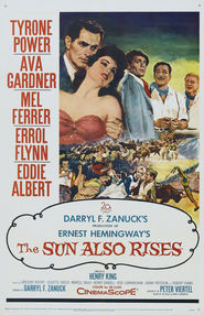 The Sun Also Rises - movie with Errol Flynn.