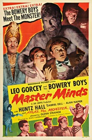 Master Minds is the best movie in Glenn Strange filmography.