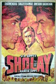 Sholay - movie with Dharmendra.
