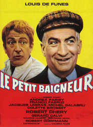 Le Petit baigneur - movie with Louis de Funes.