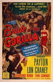 Bride of the Gorilla is the best movie in Tom Conway filmography.