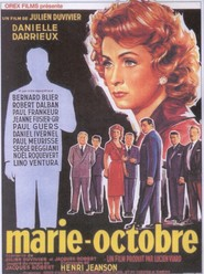 Marie-Octobre - movie with Robert Dalban.