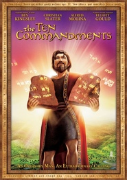 The Ten Commandments - movie with Christian Slater.