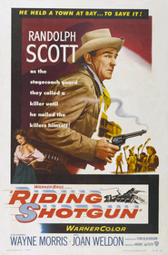 Riding Shotgun - movie with Fritz Feld.