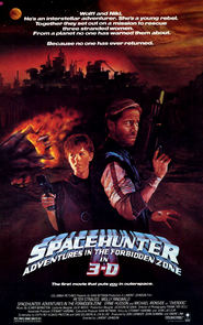 Spacehunter: Adventures in the Forbidden Zone - movie with Michael Ironside.