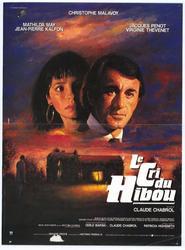 Le cri du hibou is the best movie in Jean-Pierre Kalfon filmography.