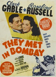 They Met in Bombay - movie with Peter Lorre.
