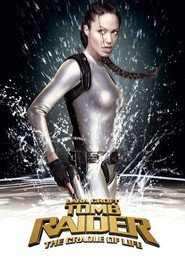 Lara Croft Tomb Raider: The Cradle of Life - movie with Angelina Jolie.