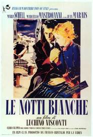 Le notti bianche - movie with Marcello Mastroianni.