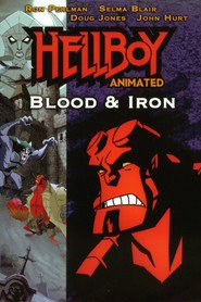 Hellboy Animated: Blood and Iron - movie with Doug Jones.