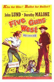 Five Guns West - movie with Dorothy Malone.