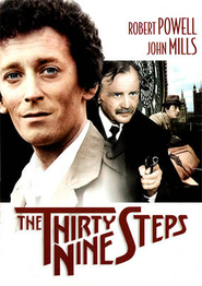 The Thirty Nine Steps - movie with Robert Powell.