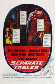 Separate Tables - movie with David Niven.
