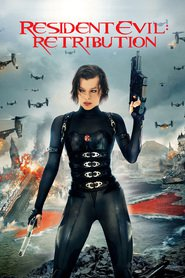 Resident Evil: Retribution - movie with Milla Jovovich.