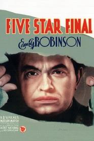 Five Star Final is the best movie in Boris Karloff filmography.