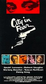 City in Fear - movie with Mickey Rourke.