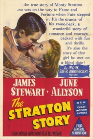 The Stratton Story - movie with Agnes Moorehead.