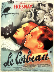 Le corbeau - movie with Noel Roquevert.