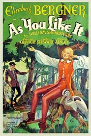 As You Like It is the best movie in Elisabeth Bergner filmography.