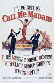 Call Me Madam is the best movie in Walter Slezak filmography.