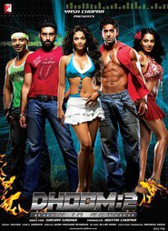 Dhoom 2 - movie with Abhishek Bachchan.