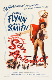San Antonio is the best movie in Errol Flynn filmography.