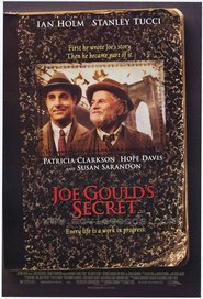 Joe Gould's Secret - movie with Patricia Clarkson.