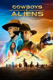 Cowboys & Aliens - movie with Harrison Ford.