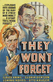 They Won't Forget is the best movie in Claude Rains filmography.