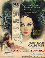 Caesar and Cleopatra - movie with Cecil Parker.