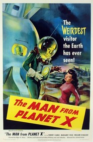 The Man from Planet X - movie with Robert Clarke.