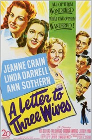 A Letter to Three Wives - movie with Paul Douglas.