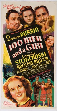 One Hundred Men and a Girl is the best movie in Mischa Auer filmography.