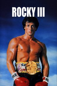 Rocky III - movie with Sylvester Stallone.