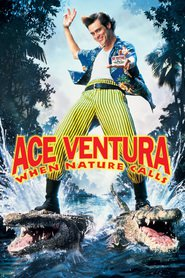 Ace Ventura: When Nature Calls - movie with Jim Carrey.
