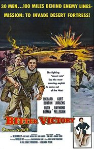 Bitter Victory is the best movie in Christopher Lee filmography.