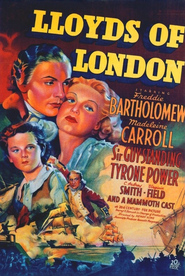 Lloyd's of London - movie with George Sanders.
