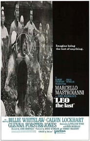 Leo the Last - movie with Marcello Mastroianni.
