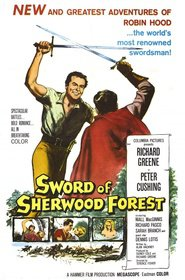 Sword of Sherwood Forest - movie with Peter Cushing.