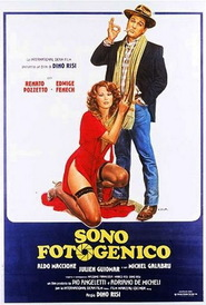 Sono fotogenico - movie with Massimo Boldi.