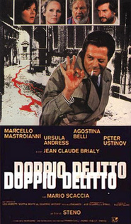 Doppio delitto - movie with Marcello Mastroianni.
