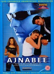 Ajnabee - movie with Johnny Lever.