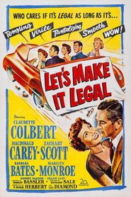 Let's Make It Legal is the best movie in Claudette Colbert filmography.