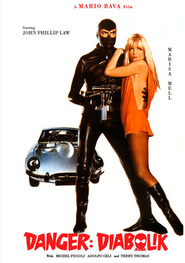 Diabolik - movie with Marisa Mell.