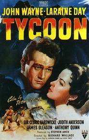 Tycoon - movie with Anthony Quinn.