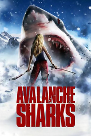 Avalanche Sharks - movie with Gina Holden.
