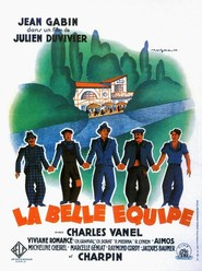 La belle equipe - movie with Charles Vanel.